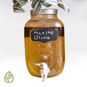 aceite oliva germina tienda a granel zero waste mexico