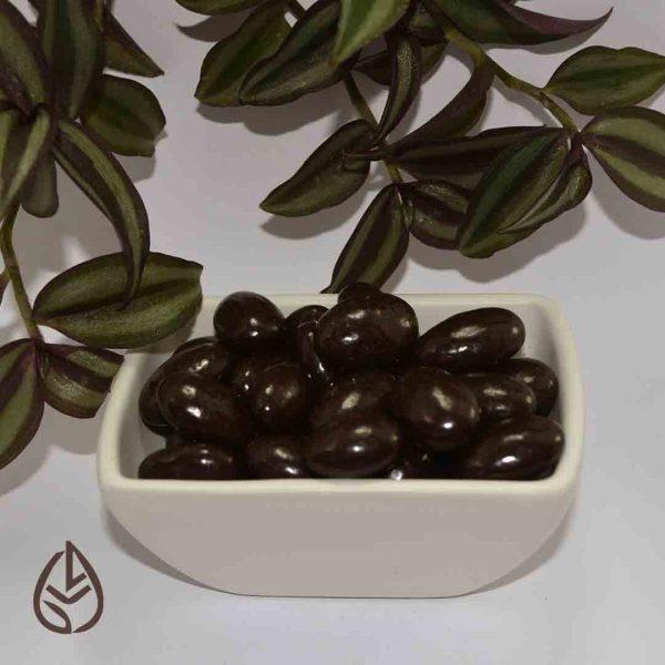 almendra cubierta chocolate sin azucar germina tienda a granel zero waste mexico munchies snacks