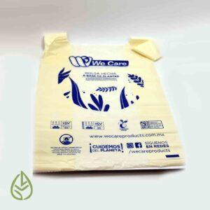bolsa individual compostable germina tienda a granel zero waste mexico