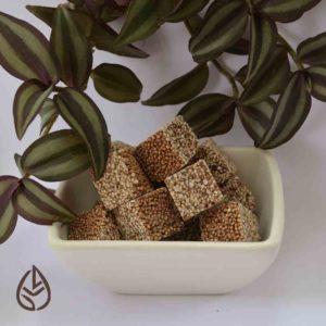 chocoamaranto amaranto chocolate semiamargo germina tienda a granel zero waste mexico munchies snacks