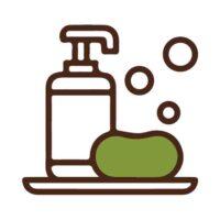 icono de categoría limpieza bio