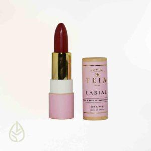 labial jamaica teia germina zero waste ecofriendly petfriendly maquillaje