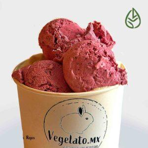 helado vegano leche soya vegan baseplant frutos bosque rojos germina tienda a granel zero waste mexico